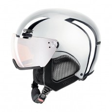 [18-19 우벡스 스키헬멧] uvex hlmt 500 visor chrome LTD